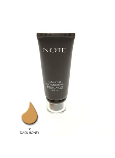 Note Note Luminous Mousturizing Fondöten Spf15 Dark Honey 06 35Ml Ten